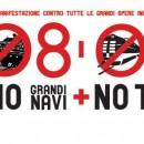 Vertice Italia Francia l'8 marzo a Venezia. Mobilitazione Non Tav, No Mose, No Grandi Navi