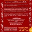 Pedalata In-Festante dalla Riviera del Brenta verso Venezia 2012