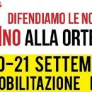 Sabato 20 settembregiornata di mobilitazioneNO AUTOSTRADA ORTE-MESTRE