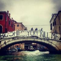 Venezia non s'inchina alla Divina – Manifestazione silenziosa