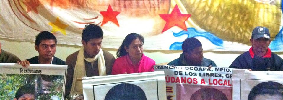 Terra e dignità. Incontro con i familiari dei 43 studenti messicani desaparecidos a Iguala