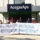 Padova e Monselice – Iniziative a AgegasAps e Cvs verso la manifestazione del 2 giugno – No ai profitti sull'acqua
