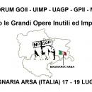5° Forum europeo contro le Grandi Opere Inutili ed Imposte