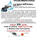No Pedemontana: il 28 aprile a Montecchio Precalcino tutti in piazza; a Cogollo un nuovo Comitato!