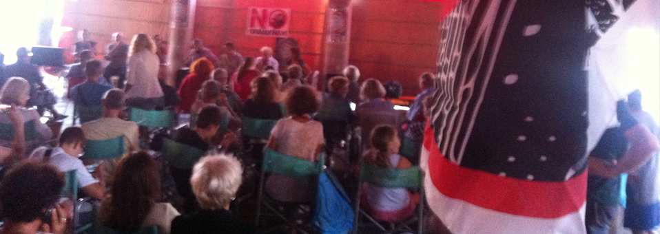 La Venezia che (r)esiste in assemblea a Rialto per preparare la festa di domenica 25